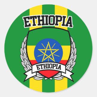 Ethiopia Classic Round Sticker
