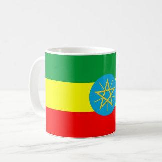 ethiopia country flag long symbol coffee mug