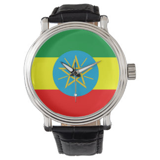 ethiopia country flag long symbol watches