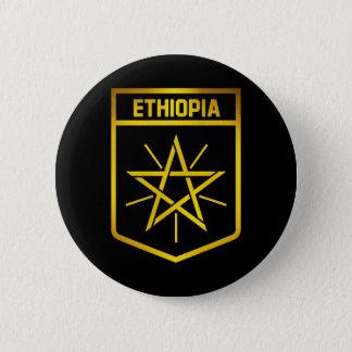 Ethiopia Emblem 6 Cm Round Badge
