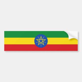 Ethiopia/Ethiopian Flag Bumper Sticker