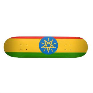 Ethiopia Flag 18.1 Cm Old School Skateboard Deck