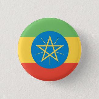 Ethiopia Flag 3 Cm Round Badge