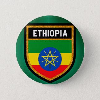 Ethiopia Flag 6 Cm Round Badge