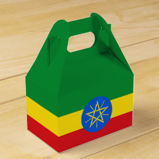 Ethiopia Flag Favour Box