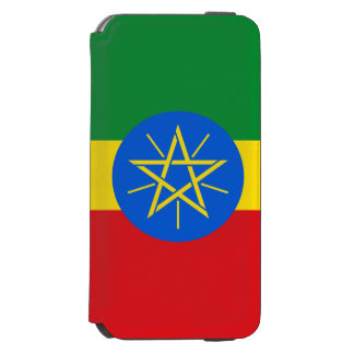 Ethiopia Flag Incipio Watson™ iPhone 6 Wallet Case