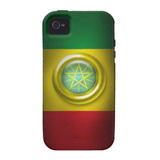 Ethiopia Flag Iphone 4/4S Case-Mate Case