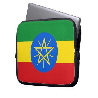 Ethiopia Flag Laptop Sleeve