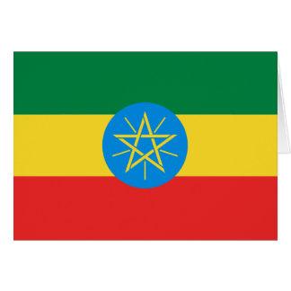 Ethiopia Flag Notecard