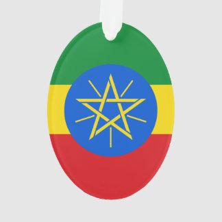 Ethiopia Flag Ornament