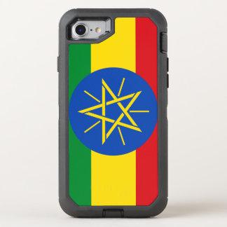 Ethiopia Flag OtterBox Defender iPhone 8/7 Case