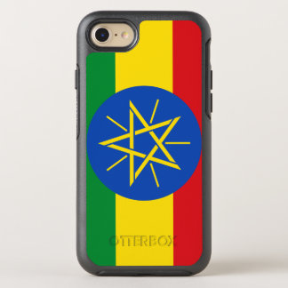 Ethiopia Flag OtterBox Symmetry iPhone 8/7 Case