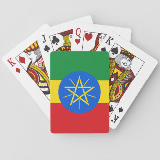 Ethiopia Flag Playing Cards
