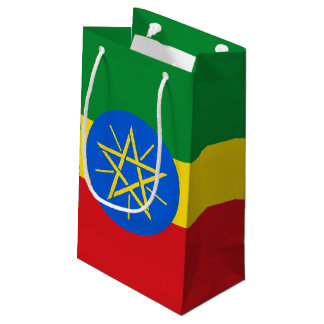 Ethiopia Flag Small Gift Bag