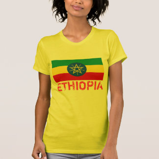 ETHIOPIA* Flag T-shirt