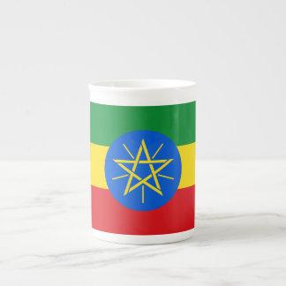 Ethiopia Flag Tea Cup