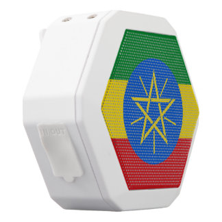 Ethiopia Flag White Bluetooth Speaker