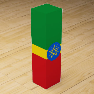 Ethiopia Flag Wine Box