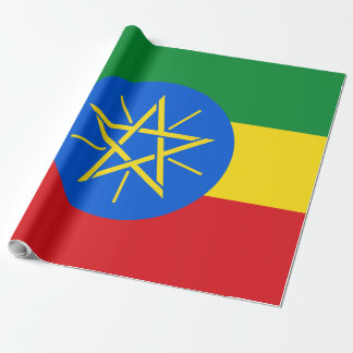 Ethiopia Flag Wrapping Paper