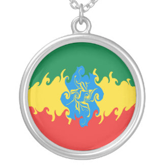 Ethiopia Gnarly Flag Custom Jewelry