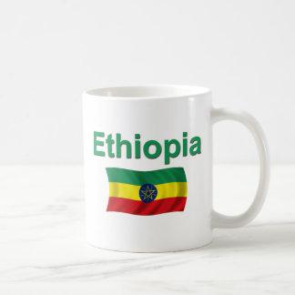 Ethiopia National Flag (w/inscription) Coffee Mug