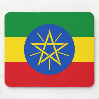 Ethiopia National World Flag Mouse Pad
