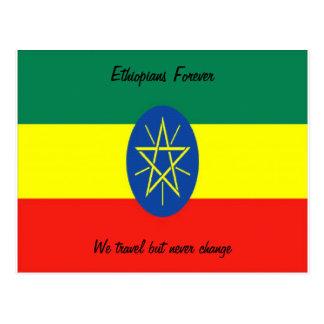 Ethiopia postcards-ethiopians forever postcard
