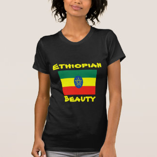Ethiopian beauty t-shirts
