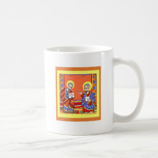 Ethiopian-Bible-Saint-Luke-Saint-John Coffee Mug