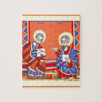 Ethiopian-Bible-Saint-Luke-Saint-John Puzzles