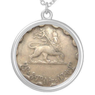 Ethiopian coin necklace
