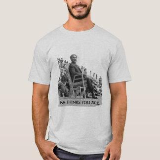 ethiopian_emperor_haile_selassie_e0, JAH THINKS... T-Shirt