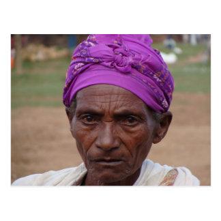 Ethiopian Woman 4 Postcard