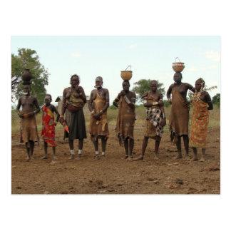 Ethiopian Women 3 Postcard