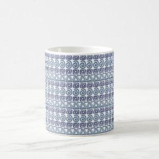 ethnic african hand-drawn pattern coffee mug
