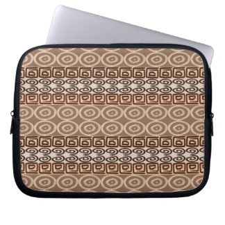 Ethnic african hand-drawn  pattern. laptop sleeve