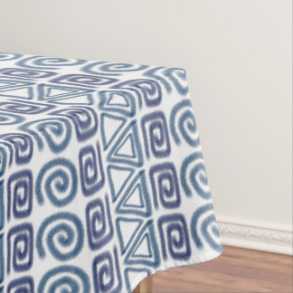 ethnic african hand-drawn pattern tablecloth
