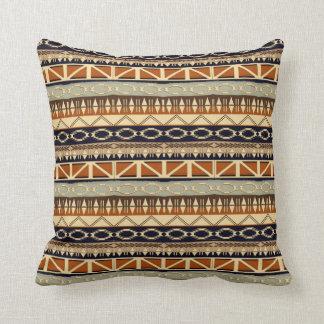 ethnic african seamless pattern cushion