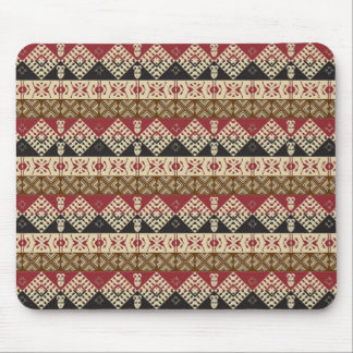 ethnic african seamless pattern mouse pad