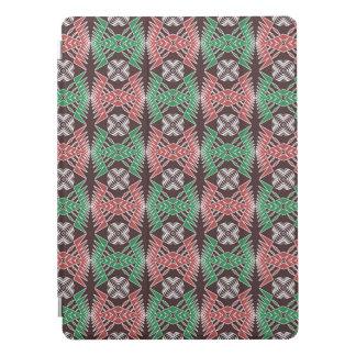 ethnic african striped geometric  pattern iPad pro cover