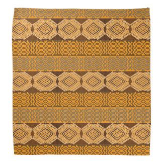 ethnic african striped tribal pattern. bandana