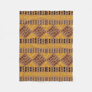 ethnic african tribal geometric pattern fleece blanket