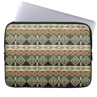 ethnic african tribal pattern laptop sleeve