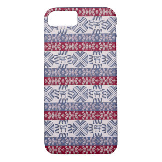 Ethnic african tribal pattern with  simbols iPhone 8/7 case