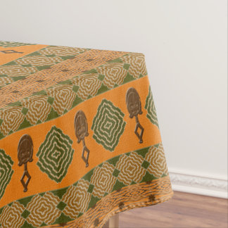 Ethnic african tribal striped pattern. tablecloth