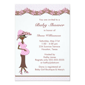 Ethnic Baby Girl Mother To Be Shower Invitation