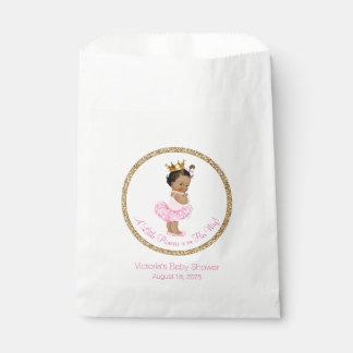 Ethnic Ballerina Princess Baby Shower Favour Bag