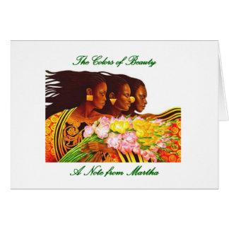 Ethnic Beauty Card