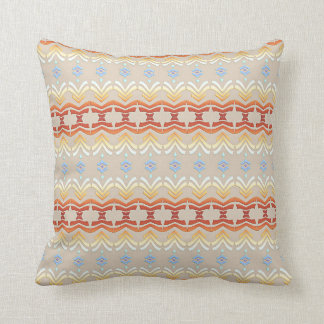 ethnic bohemian style geometric pattern cushion