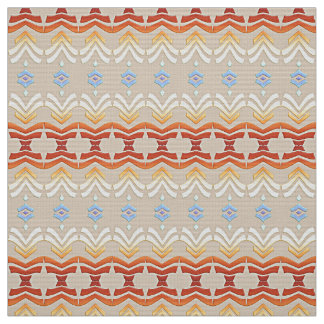 ethnic bohemian style geometric pattern. fabric